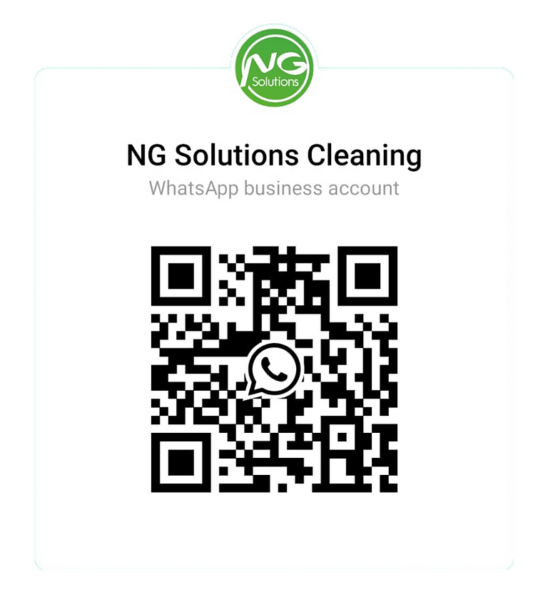 NG Solutions Cleaning QR Code